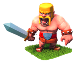 《Clash of Clans》野蠻人(Barbarian)詳細數據
