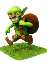《Clash of Clans》哥布林(Goblin)詳細數據