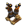 《Clash of Clans》防空火箭(Air Defense)建造時間等詳細數據