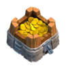 《Clash of Clans》儲金罐(Gold Storage)建造時間等詳細數據