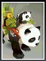 天龍八部3D翠竹熊貓坐騎介紹