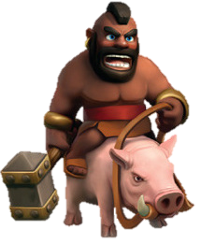 《Clash of Clans》野豬騎士(Hog Rider)詳細數據